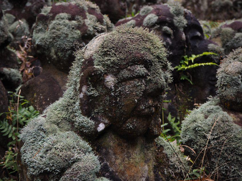"More than1200 stone statues! ""Otagi-nenbutsuji"" in Arashiyama, Kyoto"